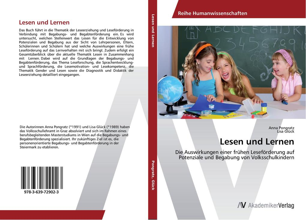 Lesen und Lernen als Buch von Anna Pongratz, Li...