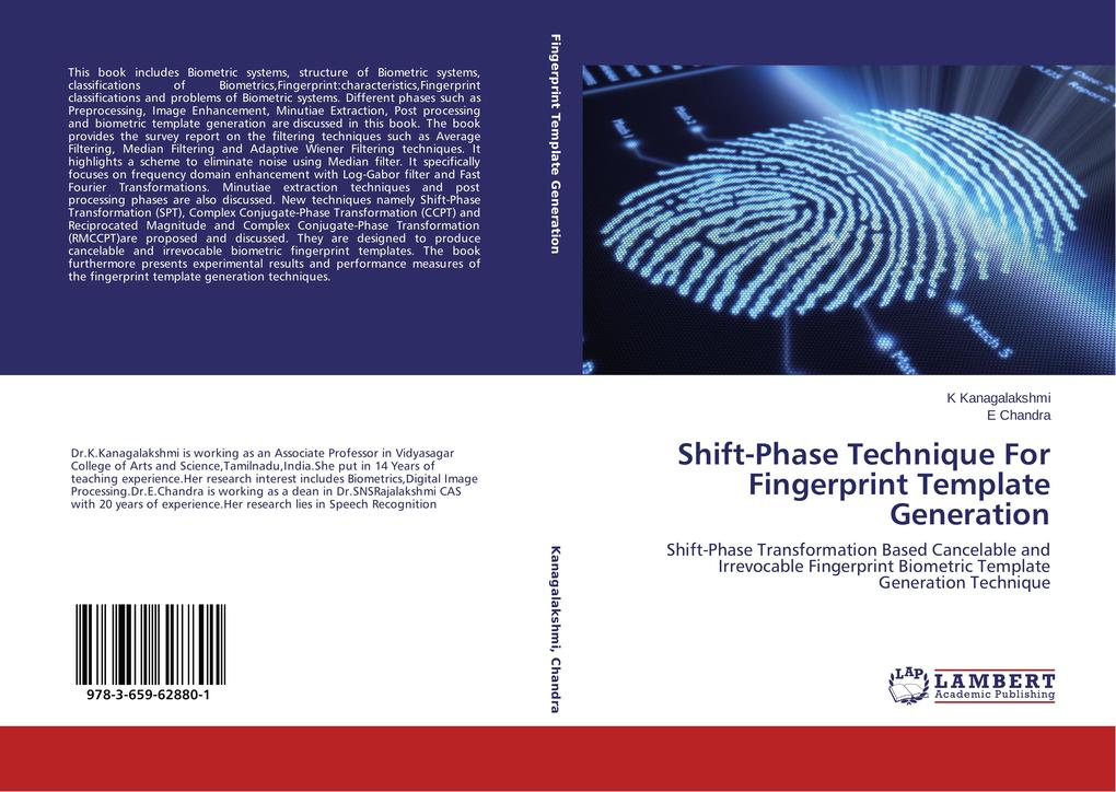 Shift-Phase Technique For Fingerprint Template ...