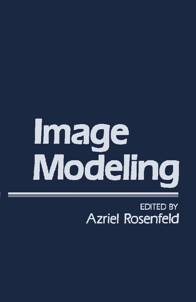 Image Modeling als eBook Download von