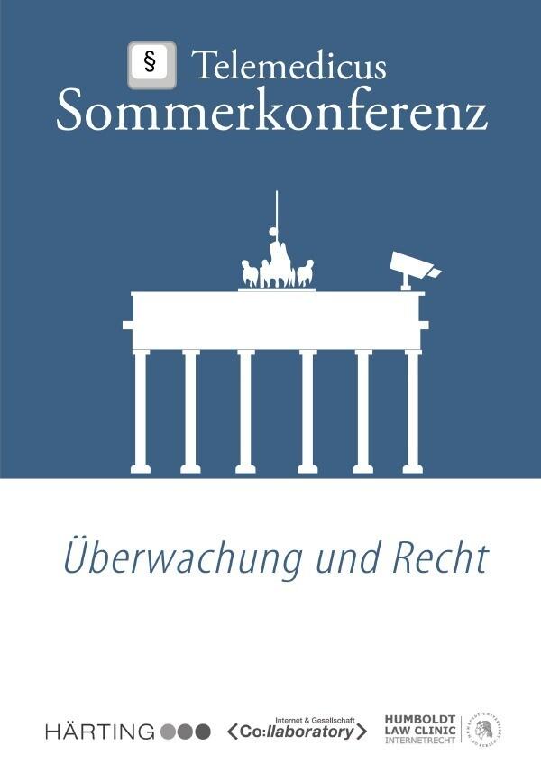 Überwachung und Recht als Buch