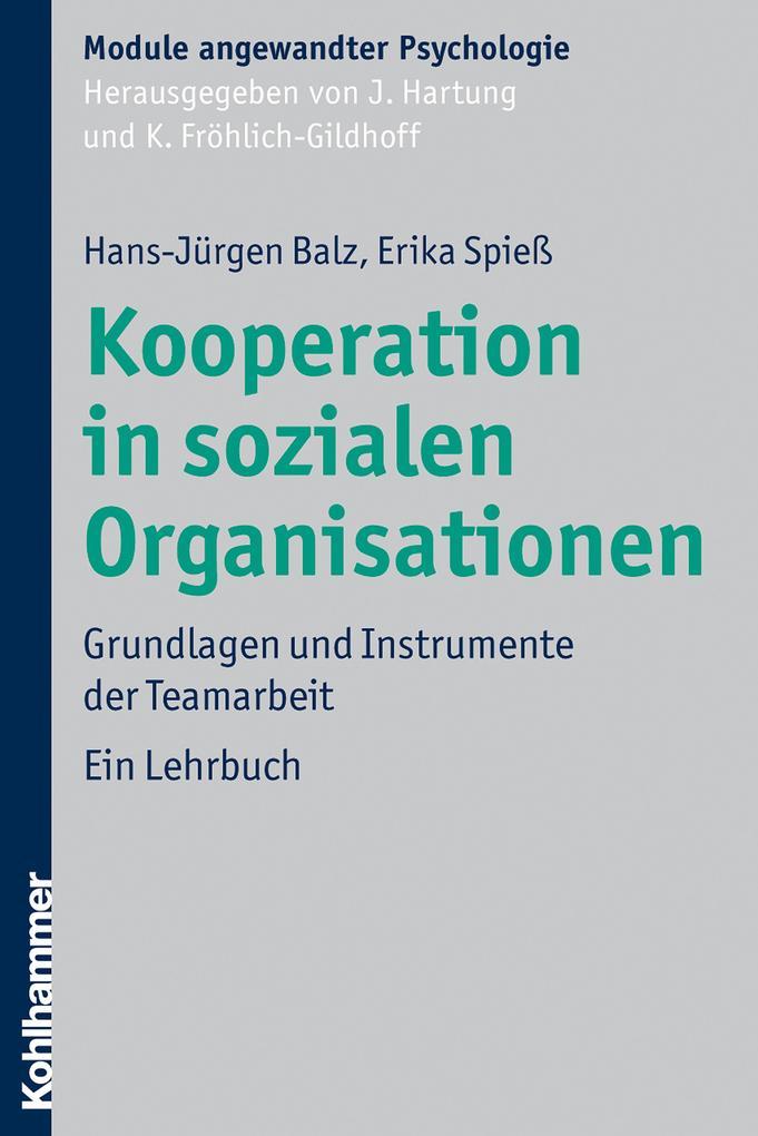 Kooperation in sozialen Organisationen als eBoo...