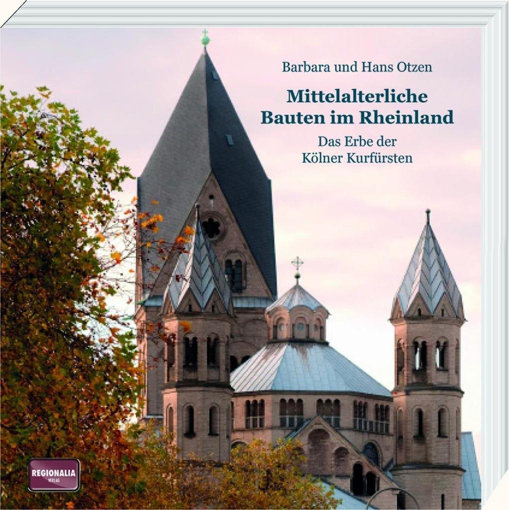 Mittelalterliche Bauten im Rheinland als Buch v...