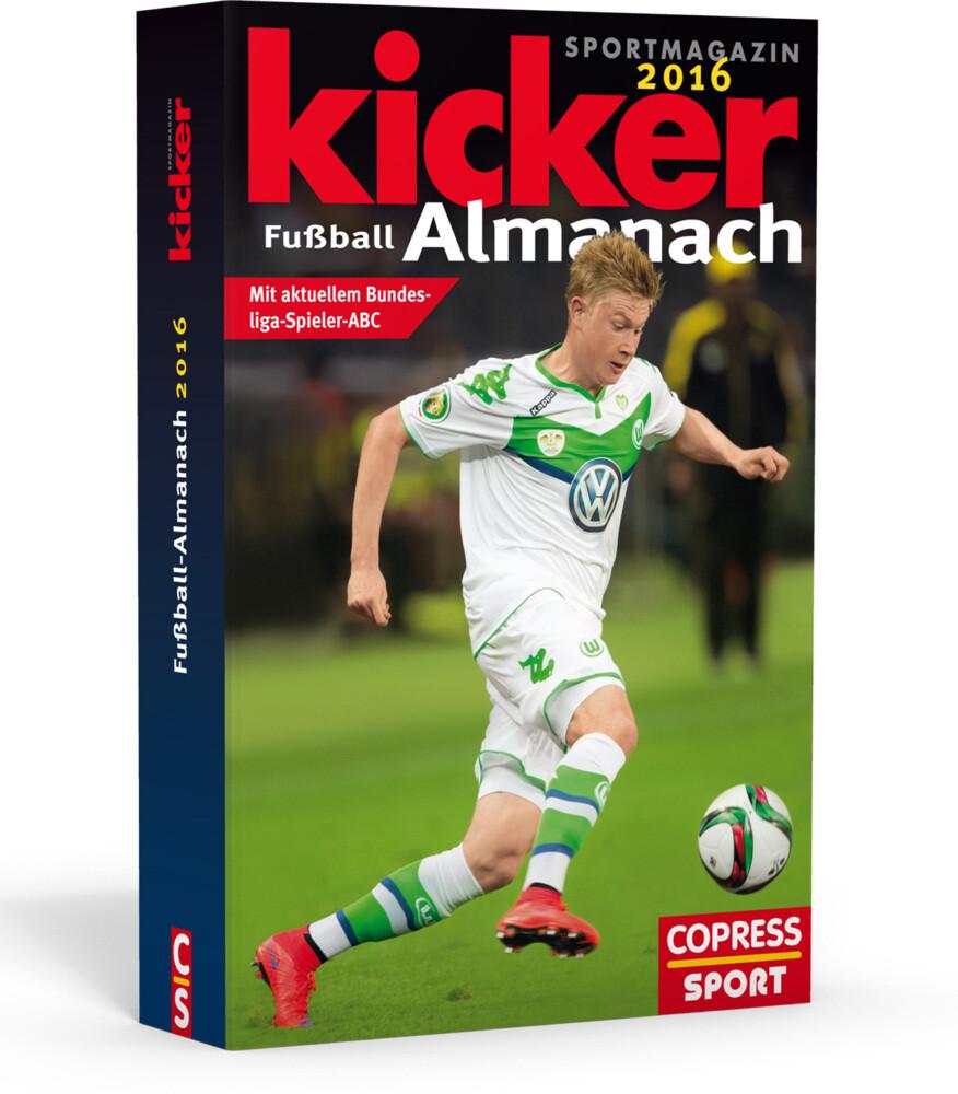 Kicker Fußball-Almanach 2016 als Buch von