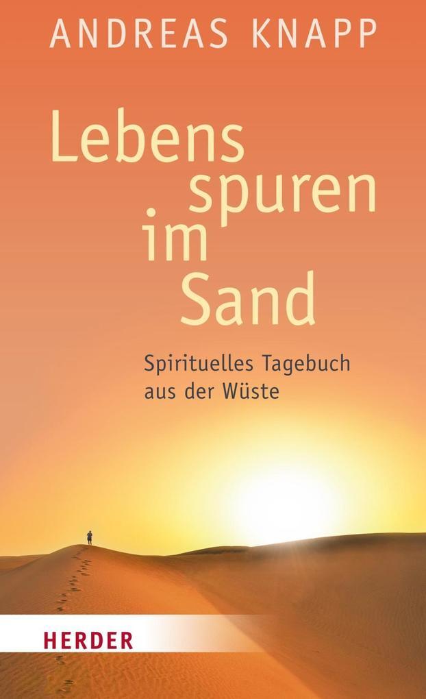 Lebensspuren im Sand als Buch