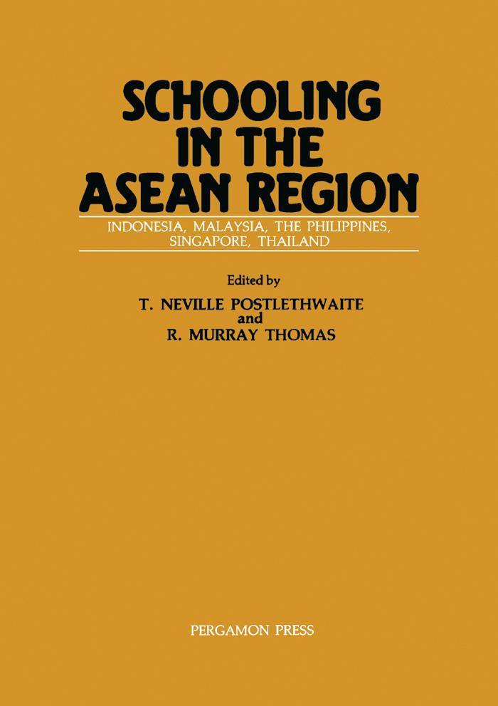 Schooling in the ASEAN Region als eBook Downloa...