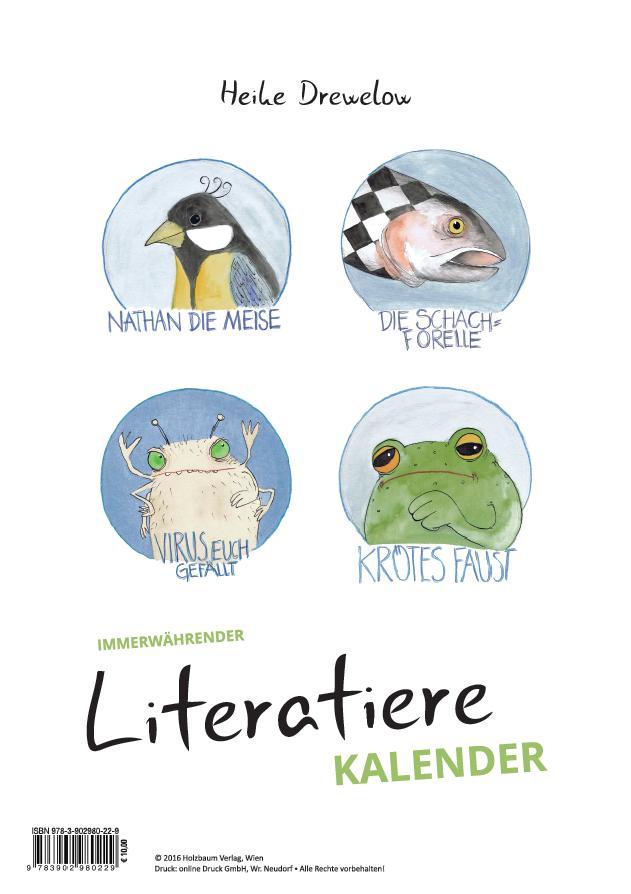 Literatiere Kalender