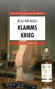 Kai Hensel. Klamms Krieg