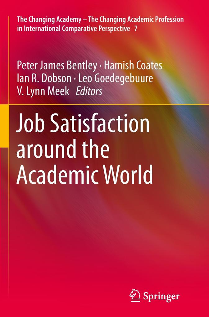 Job Satisfaction around the Academic World als ...