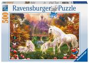 Zauberhafte Einhörner. Puzzle 500 Teile