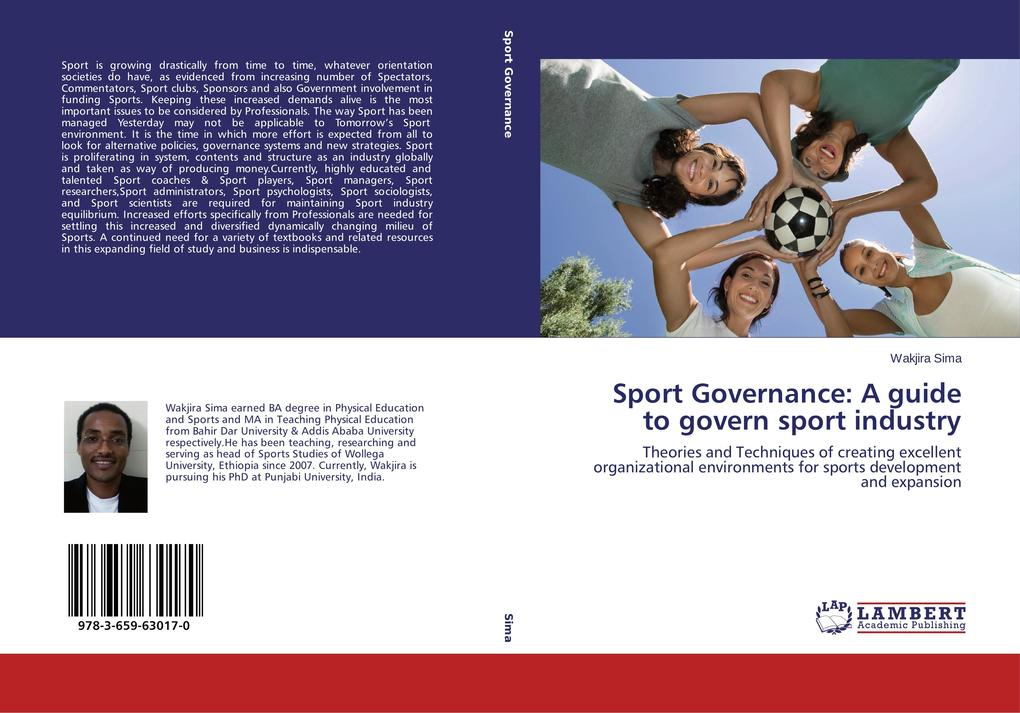 Sport Governance: A guide to govern sport indus...