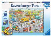 Fahrzeuge in der Stadt Puzzleteile: 100