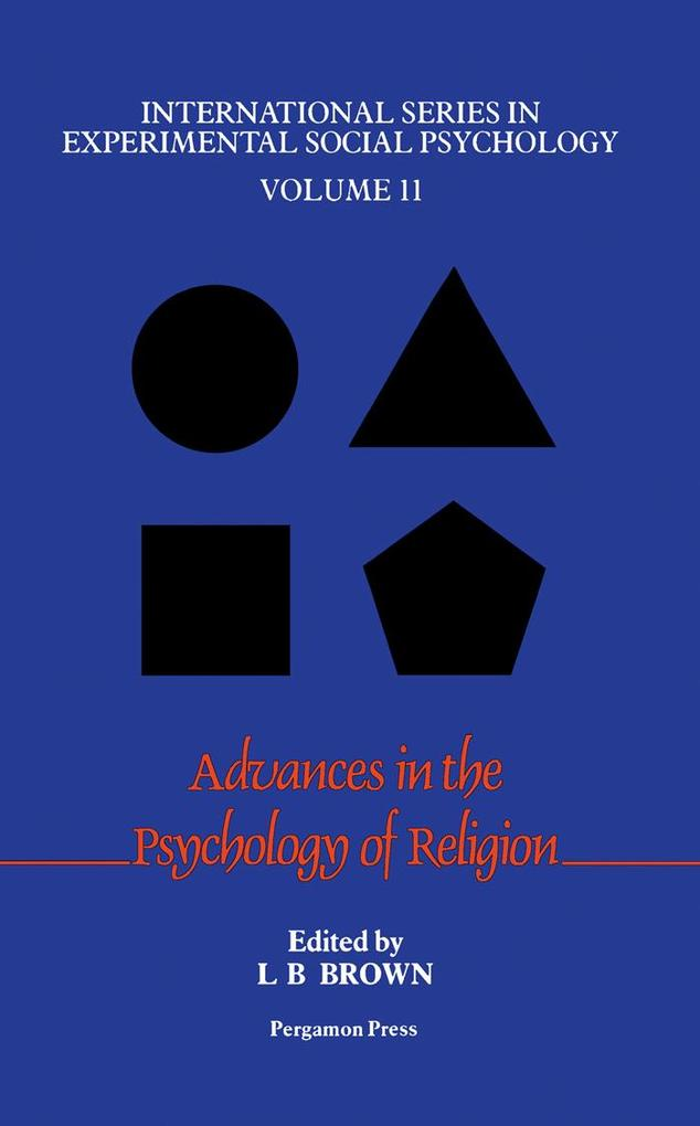 Advances in the Psychology of Religion als eBoo...