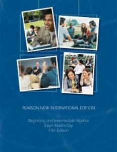 Beginning & Intermediate Algebra: Pearson New I...