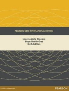 Intermediate Algebra: Pearson New International...