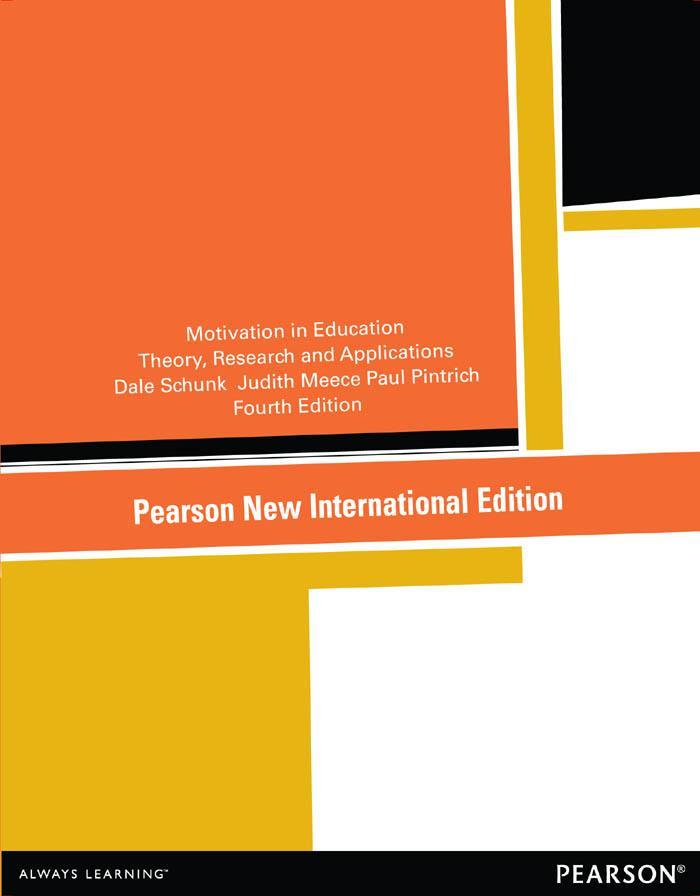 Motivation in Education: Pearson New Internatio...