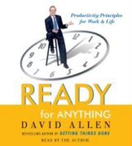 Ready for Anything: 52 Productivity Principles for Work and Life als Hörbuch