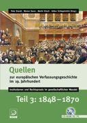 Quellen zur europäischen Verfassungsgeschichte im 19. Jahrhundert