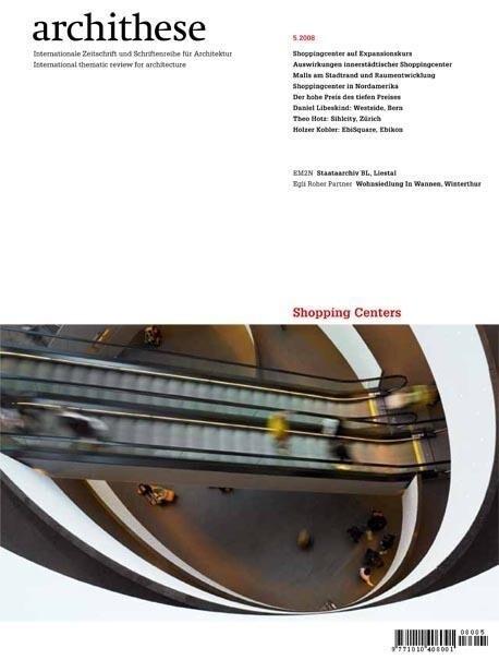 Archithese 2008/05 - Shopping Centers als Buch von