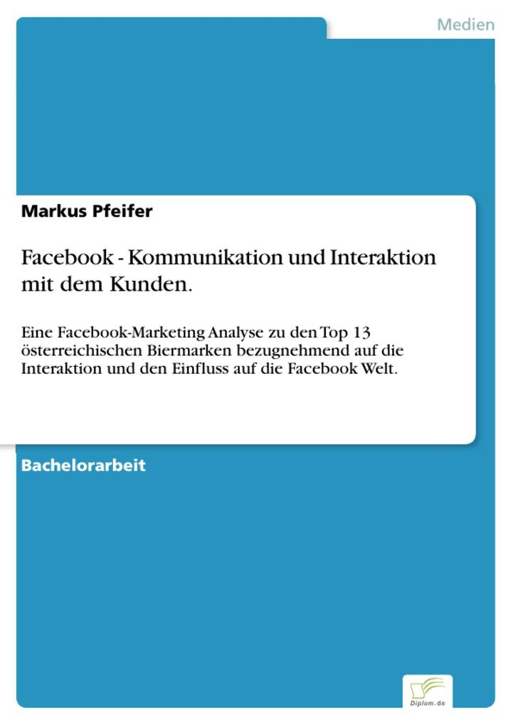 Facebook - Kommunikation und Interaktion mit de...