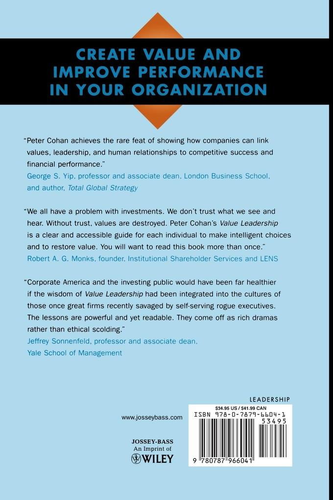 Value Leadership als Buch