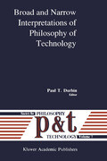 Broad and Narrow Interpretations of Philosophy of Technology