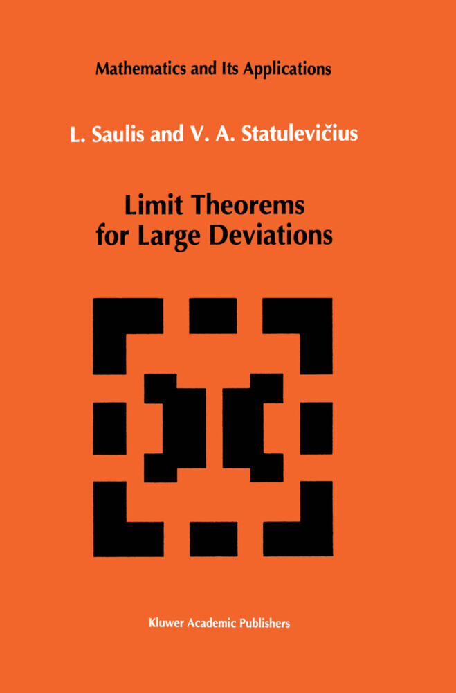 Limit Theorems for Large Deviations als Buch