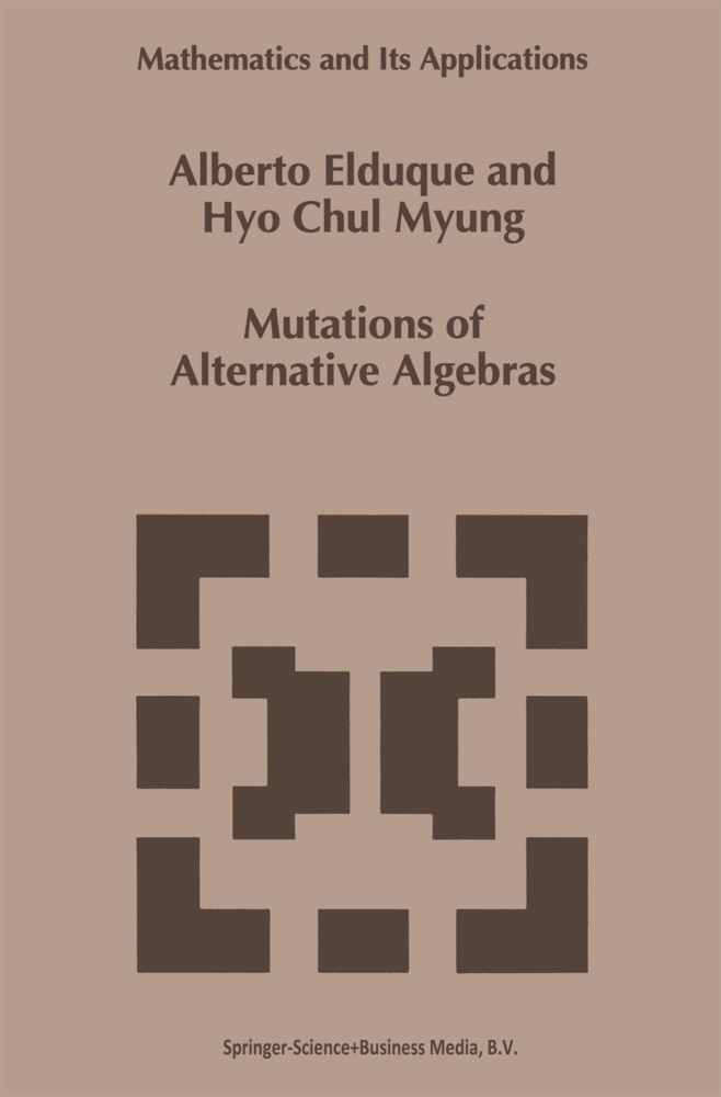 Mutations of Alternative Algebras als Buch