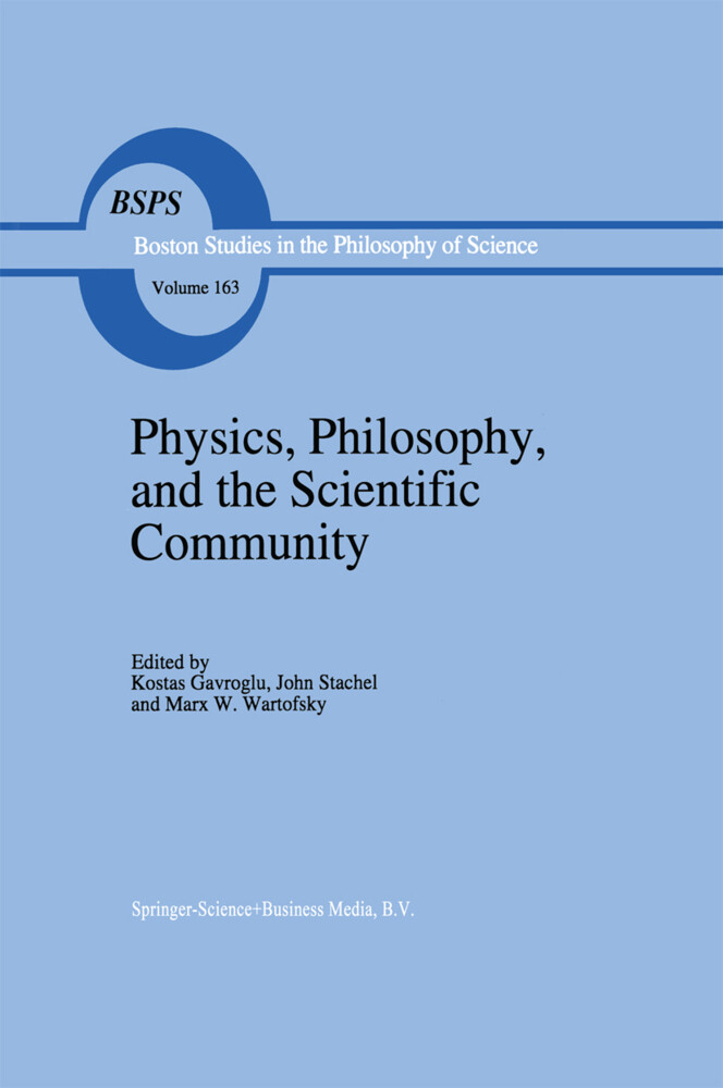Physics, Philosophy, and the Scientific Community als Buch