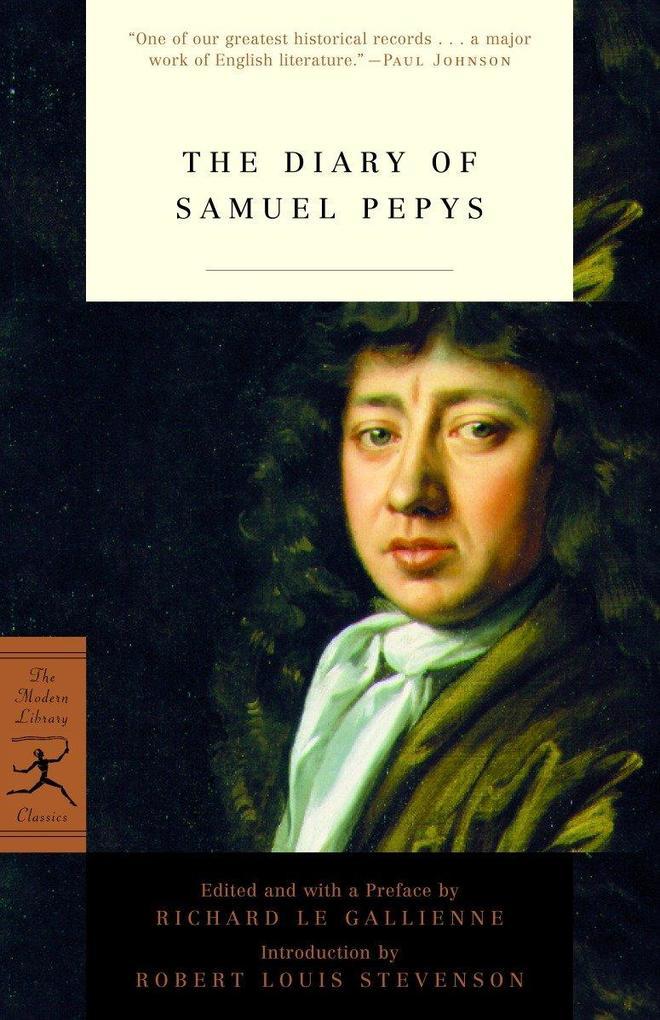Mod Lib The Diary Of Samuel Pepys als Taschenbuch