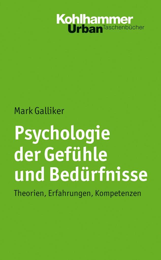Psychologie der Gefühle und Bedürfnisse als eBo...