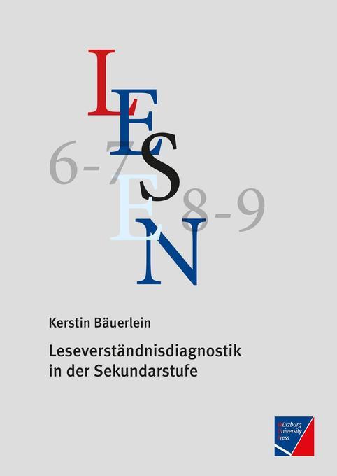 Leseverständnisdiagnostik in der Sekundarstufe ...