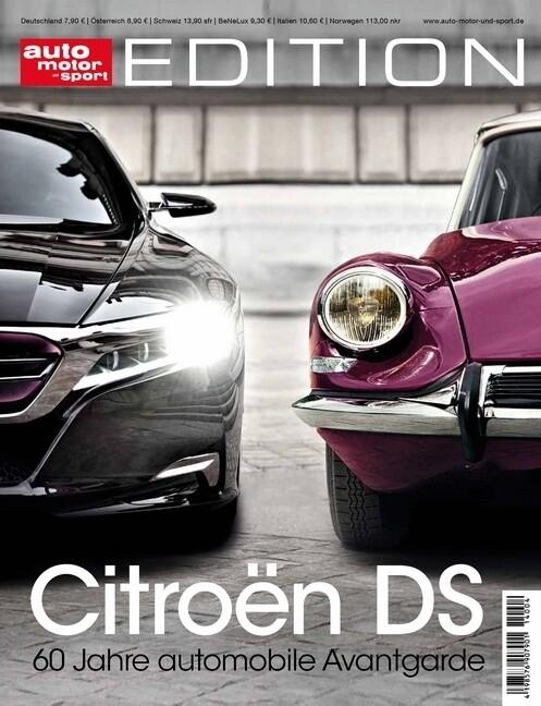 auto motor und sport Edition - Citroen DS als B...