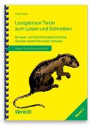 Lautgetreue Texte. Band 3. Lateinische Ausgangsschrift