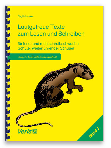 Lautgetreue Texte. Band 3. Lateinische Ausgangs...