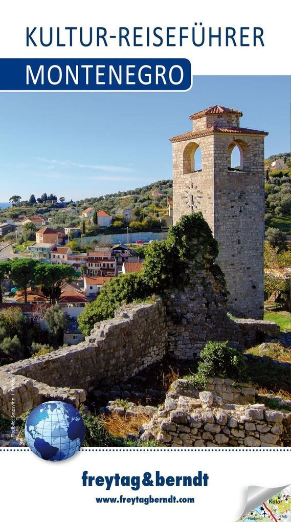 Montenegro, Kultur-Reiseführer als Buch von
