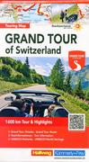 Grand Tour of Switzerland 1 : 275 000 Touring Map