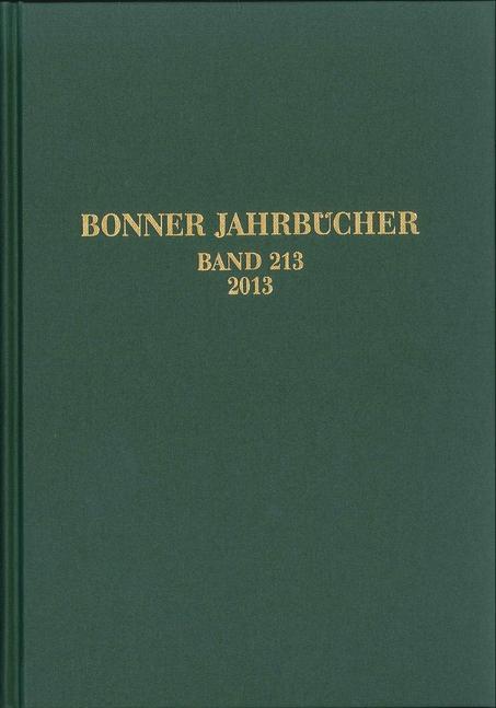 Bonner Jahrbücher 213 als Buch von