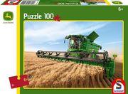 Schmidt Spiele - Puzzle - John Deere - Mähdrescher S690, 100 Teile