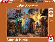 Sam Park Gässchen am Comer See. Puzzle 1000 Teile