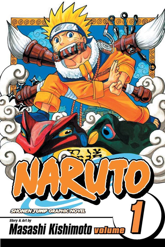 Naruto, Vol. 1 als Taschenbuch