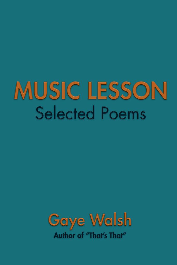 Music Lesson als eBook Download von Gaye Walsh