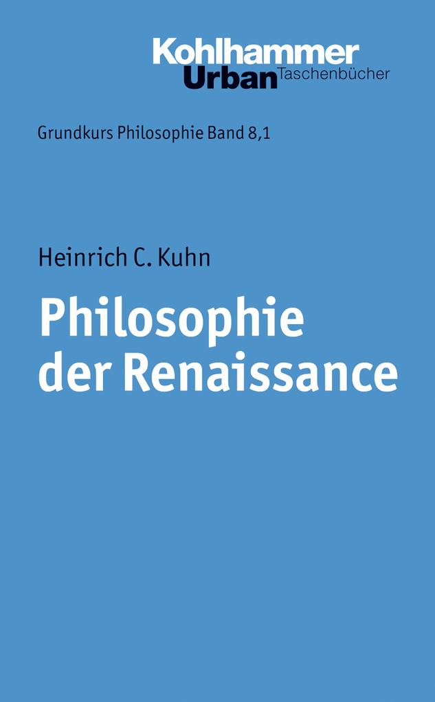 Philosophie der Renaissance als eBook Download ...