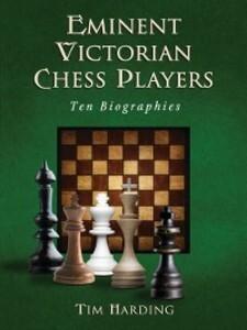 Eminent Victorian Chess Players als eBook Downl...