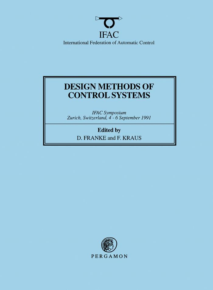 Design Methods of Control Systems als eBook Dow...