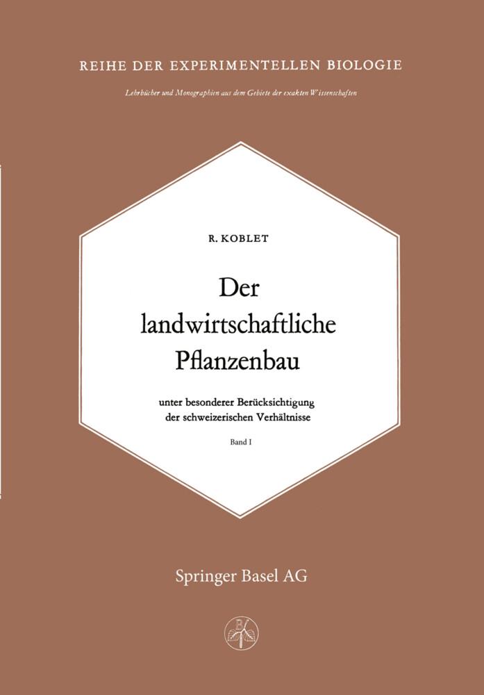 Der Landwirtschaftliche Pflanzenbau als Buch vo...