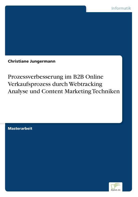 Prozessverbesserung im B2B Online Verkaufsproze...
