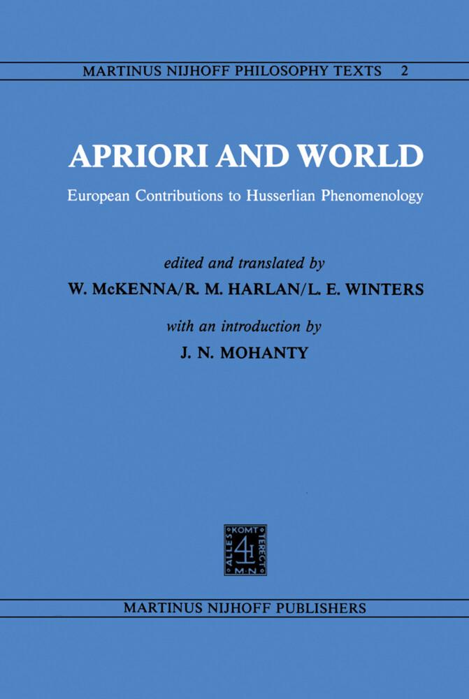 Apriori and World als Buch