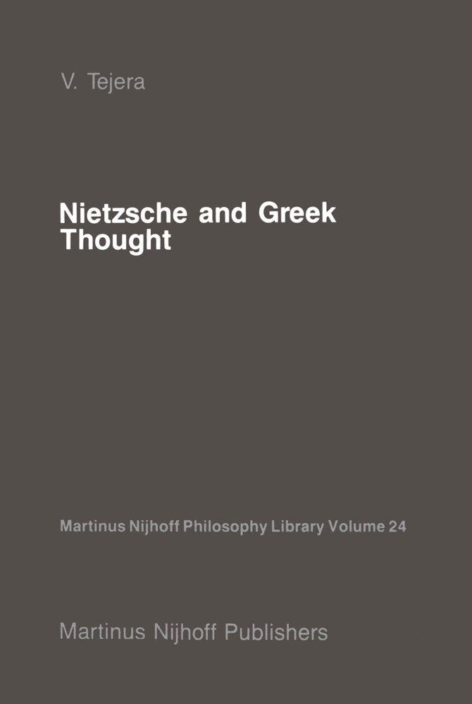 Nietzsche and Greek Thought als Buch
