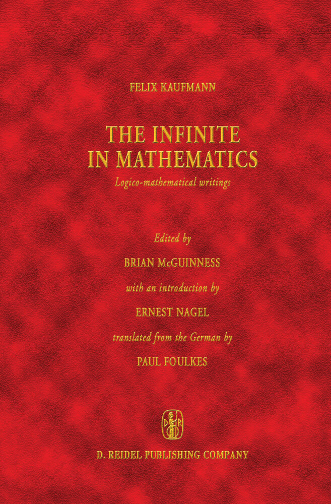 The Infinite in Mathematics als Buch