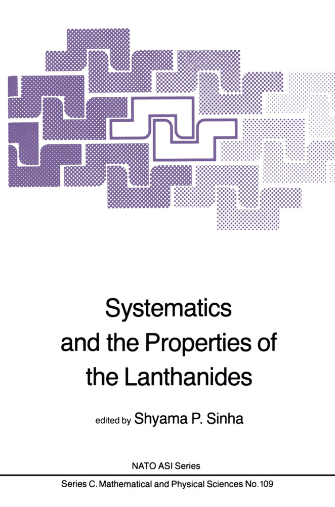 Systematics and the Properties of the Lanthanides als Buch